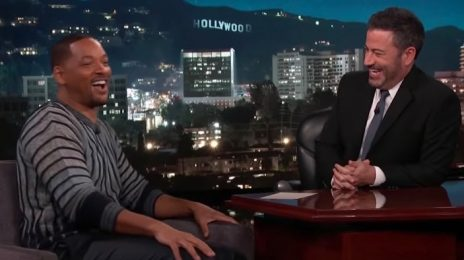 Will Smith Talks 'Aladdin,' Turning 50, & More On 'Kimmel'