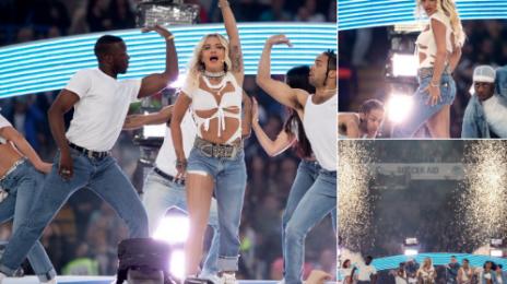 Watch: Rita Ora Rocks 'Soccer Aid' With Stellar Performance