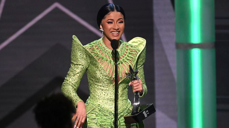 Cardi B's the First Female Rapper, Second Woman Overall To Win BET Awards' 'Album of the Year'