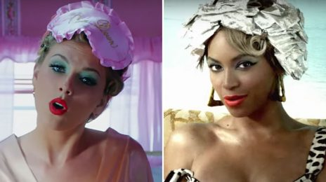 Did You Miss It?  Taylor Swift Slammed For 'Ripping Off Beyonce' With 'Calm Down' Music Video