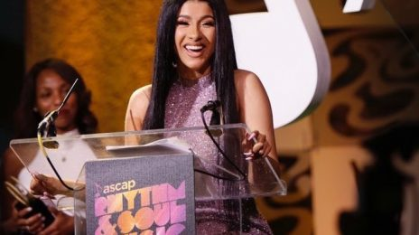Huge! Cardi B Becomes First Female Rapper To Win ASCAP Songwriter Of The Year