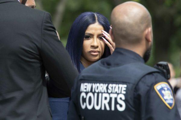Cardi B Pleads Not Guilty In Strip Club Brawl Case That Grape Juice
