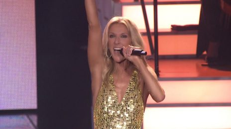 Celine Dion Debuts New Single 'Flying On My Own' Live