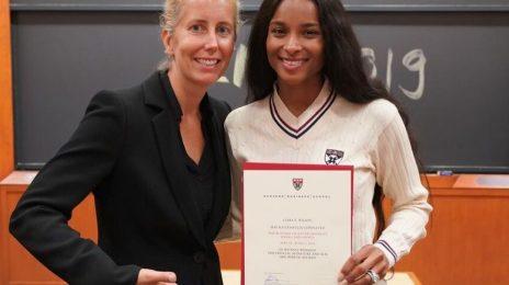 Ciara Celebrates Completing Harvard Business Course