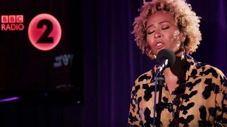 Emeli Sande Soars With Whitney Houston's 'My Love Is You Love' On BBC Radio 2's Piano Room