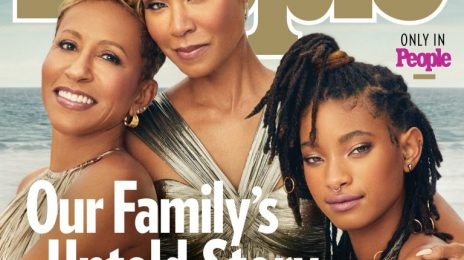 Jada Pinkett Smith Covers PEOPLE Magazine With Willow & Mom Adrienne