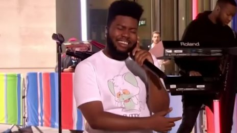 Khalid Performs 'Talk' On 'The One Show' On BBC