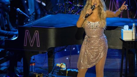 Mariah Carey Delivers Powerful 'Fly Like A Bird' Performance In Paris [Video]