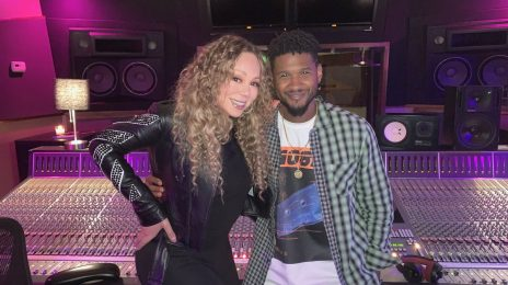 Mariah Carey Hits The Studio With...Usher!