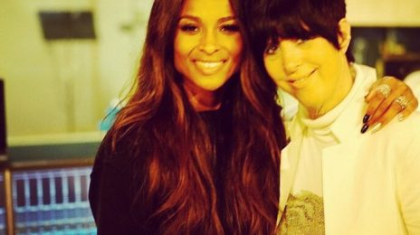 "Ciara Hits The Studio With Diane Warren For ""Something Really Special"""