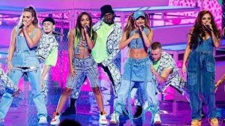 Little Mix Blaze 'The Voice Australia' With 'Bounce Back' [Performance]