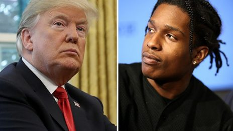 Trump 'Disappointed' With Sweden for Charging A$AP Rocky with Aggravated Assault