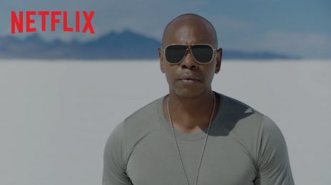He's Back!  Dave Chappelle Teases New Netflix Comedy Special, 'Sticks & Stones' [Watch]
