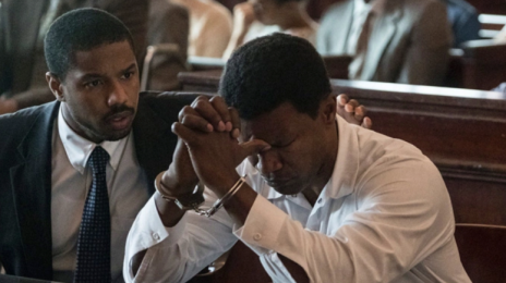 Movie Trailer: 'Just Mercy' [Starring Michael B. Jordan, Jamie Foxx, Brie Larson]