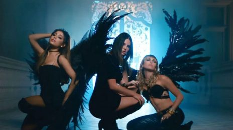 New Video: Ariana Grande, Miley Cyrus, & Lana Del Rey - 'Don't Call Me Angel'