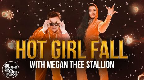 New Video:  Jimmy Fallon & Megan Thee Stallion - 'Hot Girl Fall'