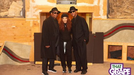 Exclusive Pic: Janet Jackson Celebrates 'Rhythm Nation' Anniversary With Jimmy Jam & Terry Lewis At Historic Flyte Tyme Studios