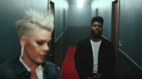 New Video: Pink - 'Hurts 2B Human (ft. Khalid)'