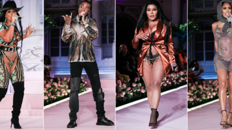 Watch:  Ashanti & Lil Kim Turn Heads With Performances at Saweetie NYFW Event
