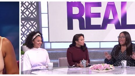 "Tamar Braxton Claims 'The Real' Cast Are ""Catty"" / They Respond [Video]"