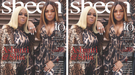 Behind the Scenes:  Ashanti & Sister Shia Shine Inside 'Sheen' Magazine [Video]