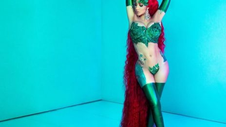 Cardi B Scorches As Poison Ivy For Halloween