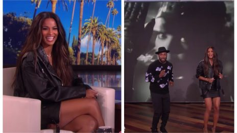Ciara Celebrates Birthday On 'Ellen' / Dances To Janet Jackson
