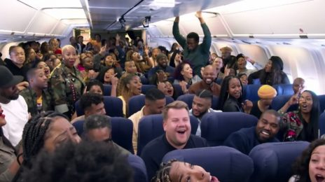 Kanye West Takes Sunday Service To The Skies With 'Airpool Karaoke' Special