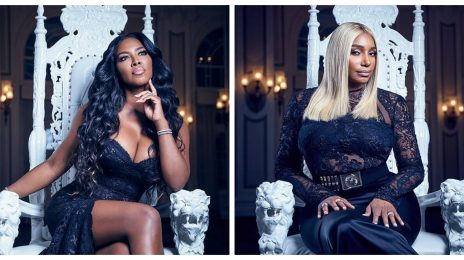 "Nene Leakes Denies Spitting On Kenya Moore, But Adds ""I Wish I Had"""