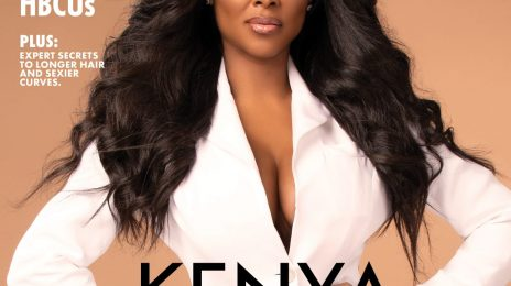 Kenya Moore Covers Upscale / Talks Heartbreak, Motherhood, & More
