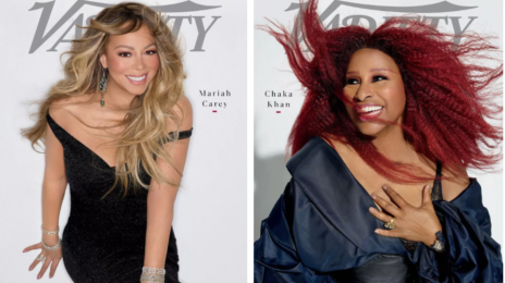 Hot Shots:  Mariah Carey & Chaka Khan Cover Variety's 'Power of Women' Issue [Photos]
