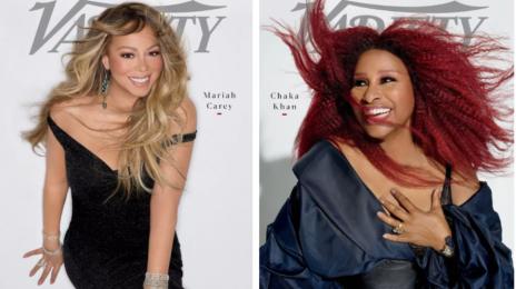 Hot Shots:  Mariah Carey & Chaka Khan Cover Variety's 'Power of Women' Issue [Photos]