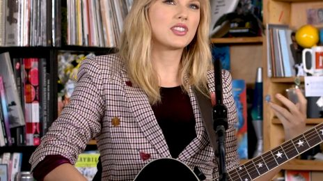 Watch:  Taylor Swift Performs 'The Man,' 'Lover,' 'All Too Well,' & More on NPR's 'Tiny Desk Concert'
