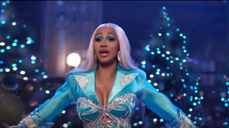Cardi B Stars In New Pepsi Christmas Commercial [Video]