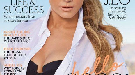 Jennifer Lopez Covers Marie Claire Australia