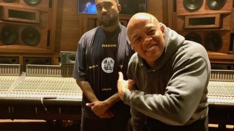 Kanye West Hits The Studio With Dr Dre For 'Jesus Is King' Part 2