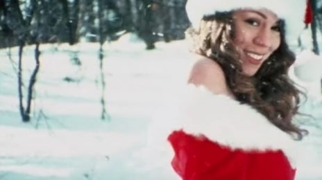 Mariah Carey Kicks Off The Holiday Season With Re-Worked 'All I Want For Christmas Is You' Video