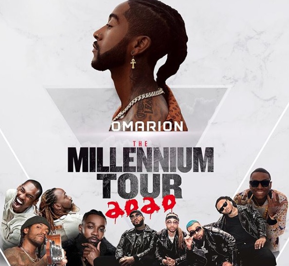 Image result for omarion millennium tour