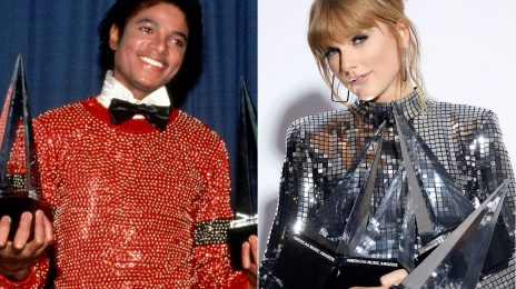 Watch:  Taylor Swift Beats Michael Jackson To Become the Most Awarded Artist in #AMAs History
