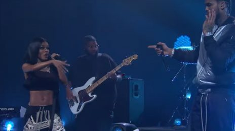Dave East & Teyana Taylor Perform 'Need A Sign' On 'Corden'