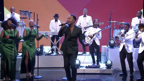 Did You Miss It?  John Legend Graces 'The Tonight Show' With 'This Christmas' [Watch]
