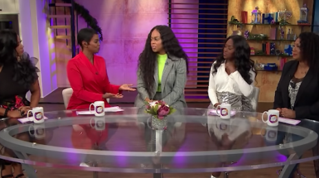 Chrisette Michele Visits 'Sister Circle' / Shares Fresh Thoughts On Donald Trump Drama