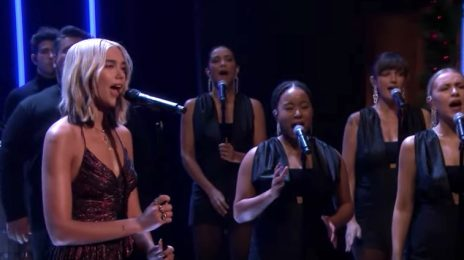 Dua Lipa Dazzles With 'Don't Start Now' Live On 'Fallon' [Performance]