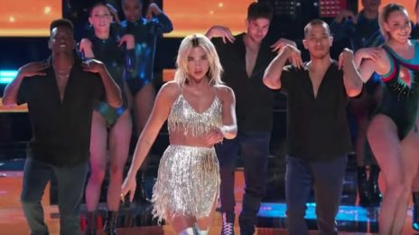 Dua Lipa Dances Up A Storm During 'Don't Start Now' Performance On 'The Voice'