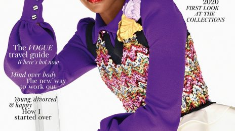 Lupita Nyong'o Blazes British Vogue
