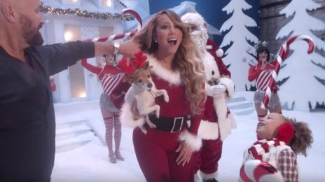 Behind The Scenes: Mariah Carey's New 'All I Want For Christmas' Video