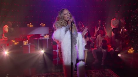 Mariah Carey Wows With 'Christmas Time Is In The Air' On 'Late Late Show' TV Residency [Performance]