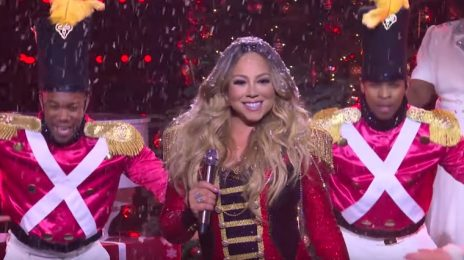 Mariah Carey Performs 'All I Want For Christmas Is You' On 'Late Late Show' TV Residency