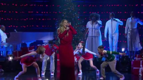 Mariah Carey Launches 'Late Late Show' Christmas Residency With 'Oh Santa' [Performance]