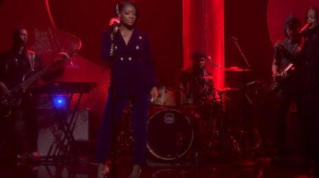 Summer Walker Performs 'Playing Games' On 'Fallon' [Video]